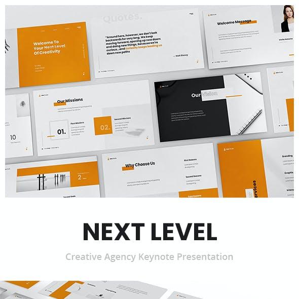 Next Level Creative Agency Keynote Presentation