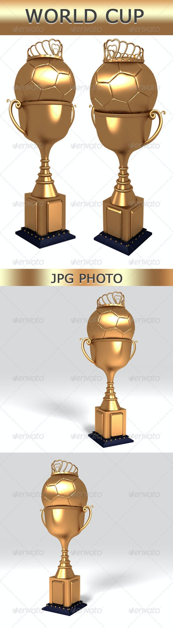 World Cup - Objects 3D Renders