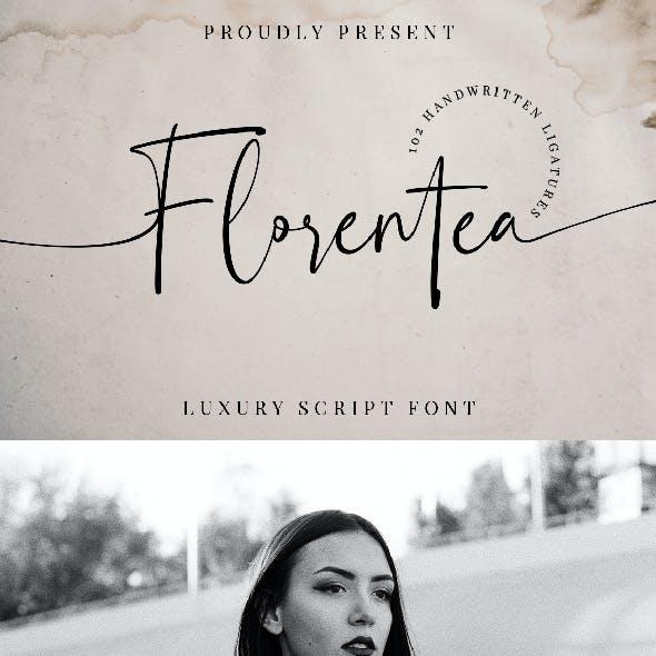 Florentea Luxury Script