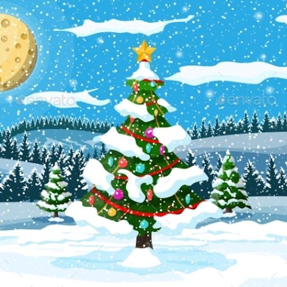 Christmas Nature Landscape