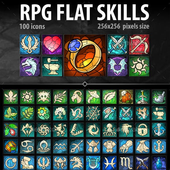 RPG Flat Skills