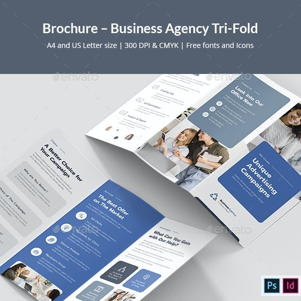 Brochure – Business Agency Tri-Fold
