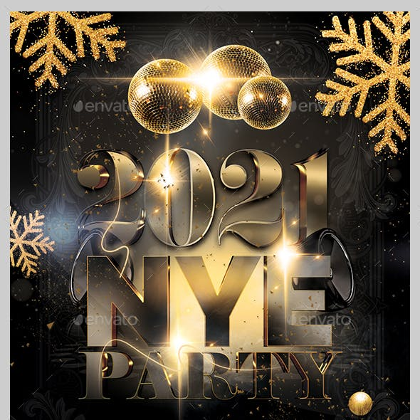 New Year Eve Flyer