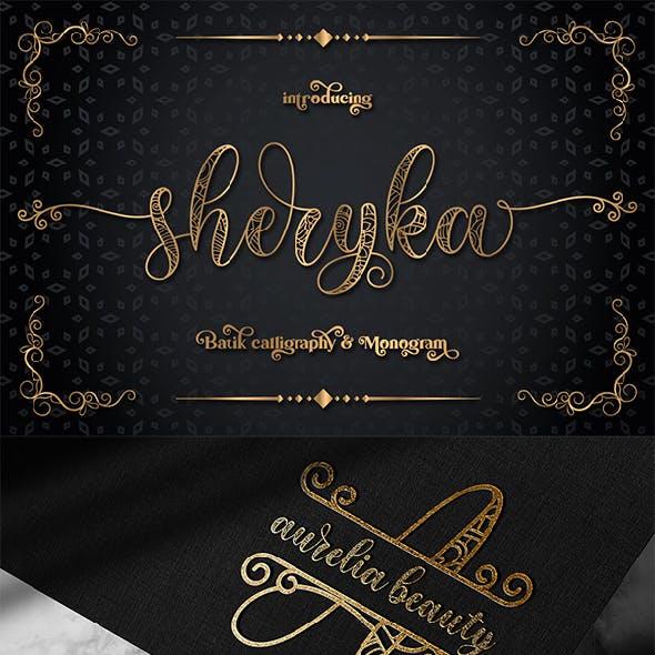 Sherika | Batik Calligraphy & Monogram