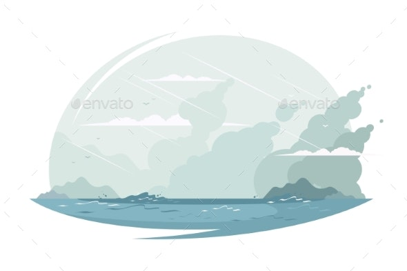 Cute Ocean Landscape - Landscapes Nature