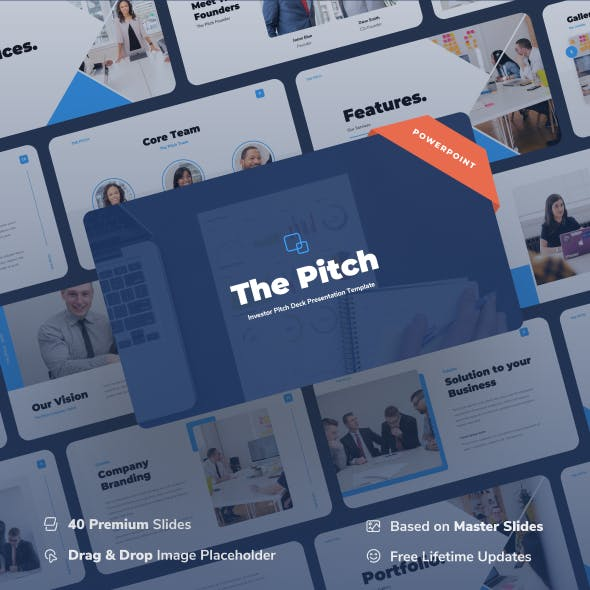 Thepitch – Investor Pitch Deck Power Point Presentation