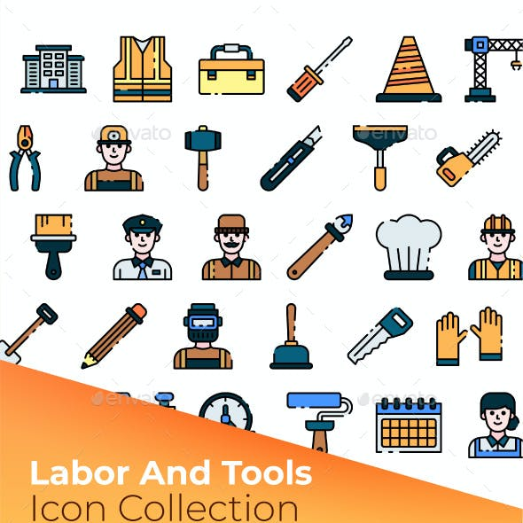 Labor & Tools Icon