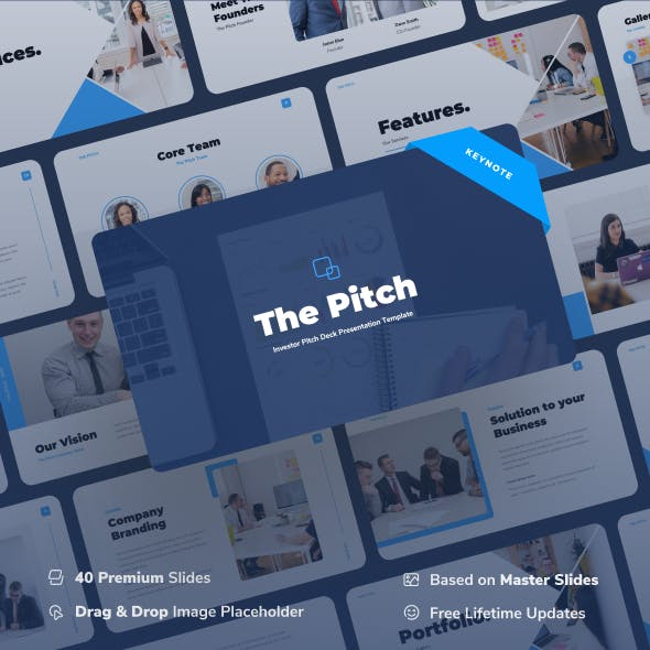 Thepitch – Investor Pitch Deck Keynote Presentation