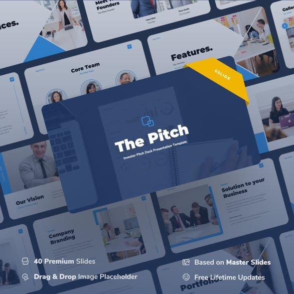 Thepitch – Investor Pitch Deck Google Slides Presentation