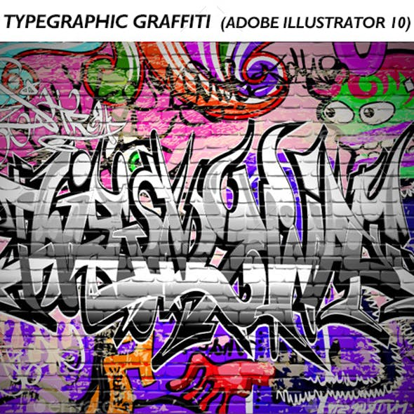 Typegraphic Graffiti Vector