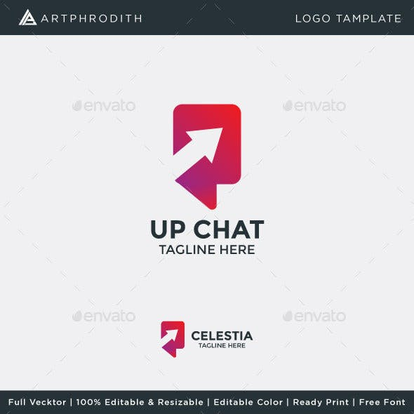 Up Chat Logo