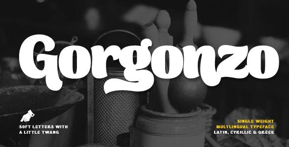Gorgonzo - Script Fonts