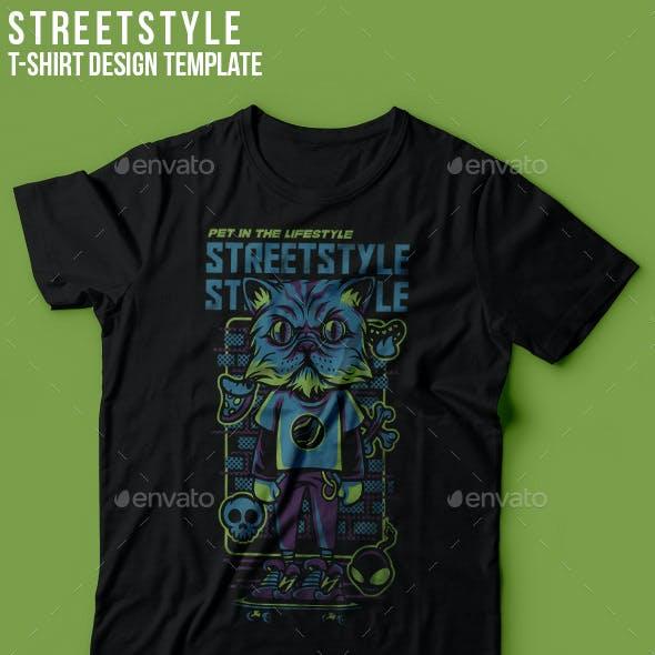Street Style T-Shirt Design