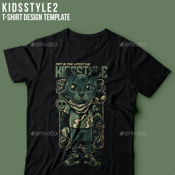 KIds Style 2 T-Shirt Design
