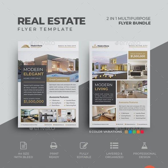 Real Estate Flyer Bundle 02