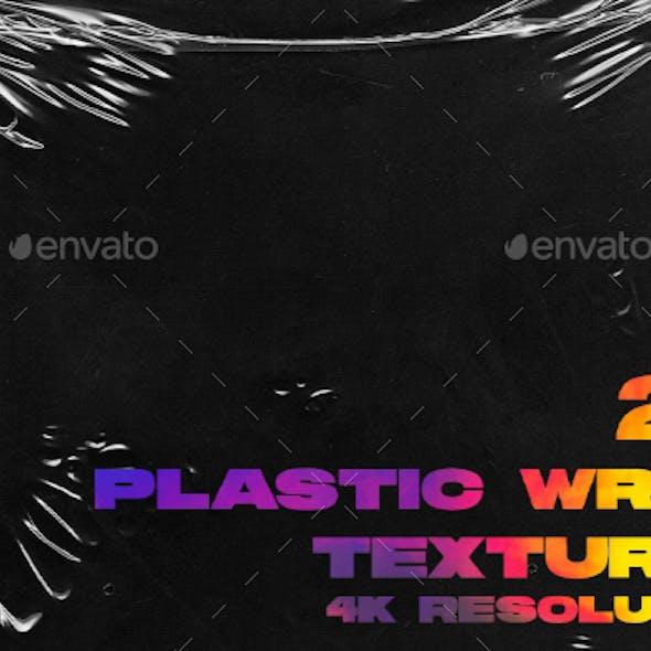 4K Plastic Wrap Textures