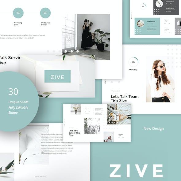 Zive - Simple & Minimal Powerpoint