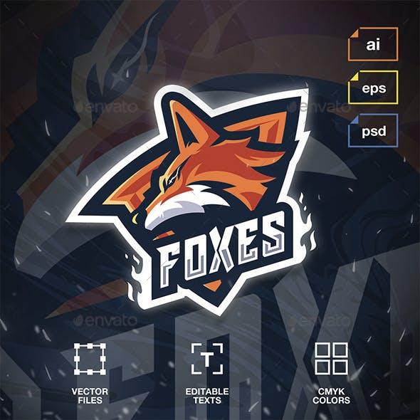 Esport Logo Foxes