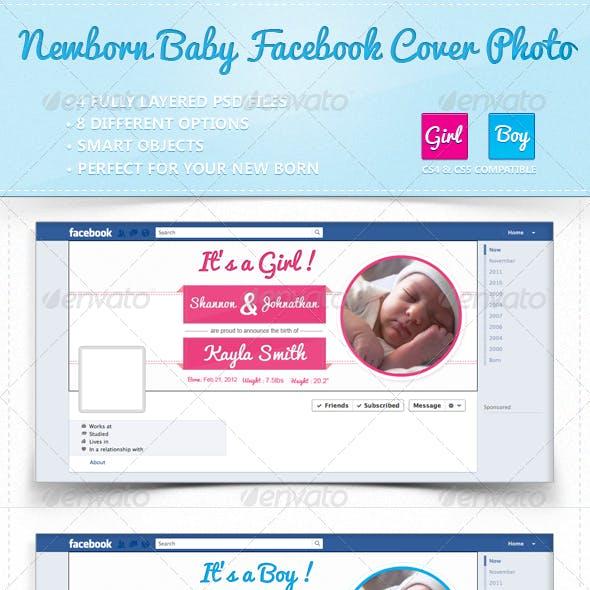 Facebook Timeline Cover   New Born