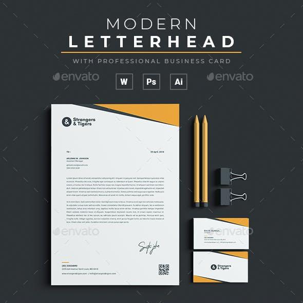 Letterhead / Business Card