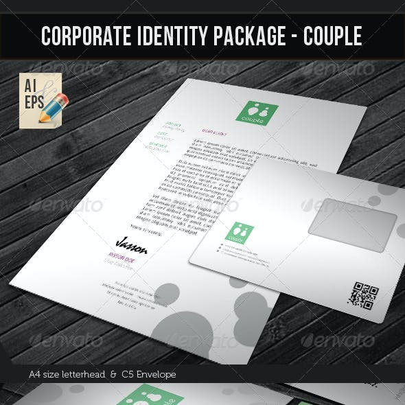 Corporate Identity Package - Couple