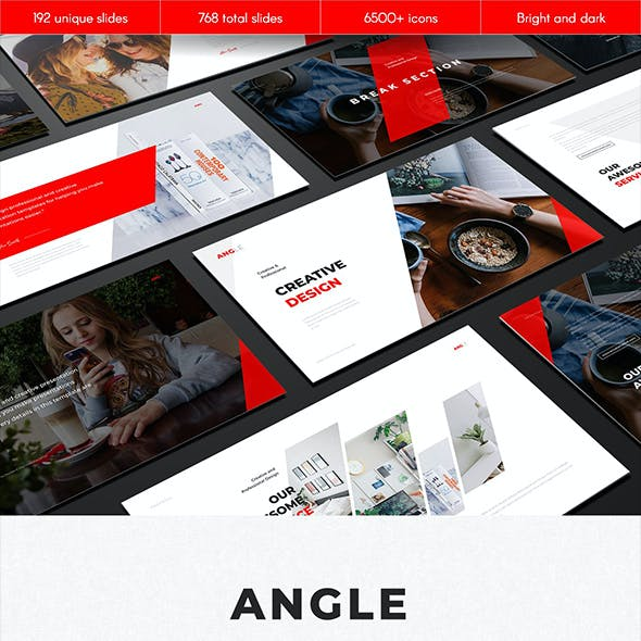 Angle Multipurpose Google Slides Template