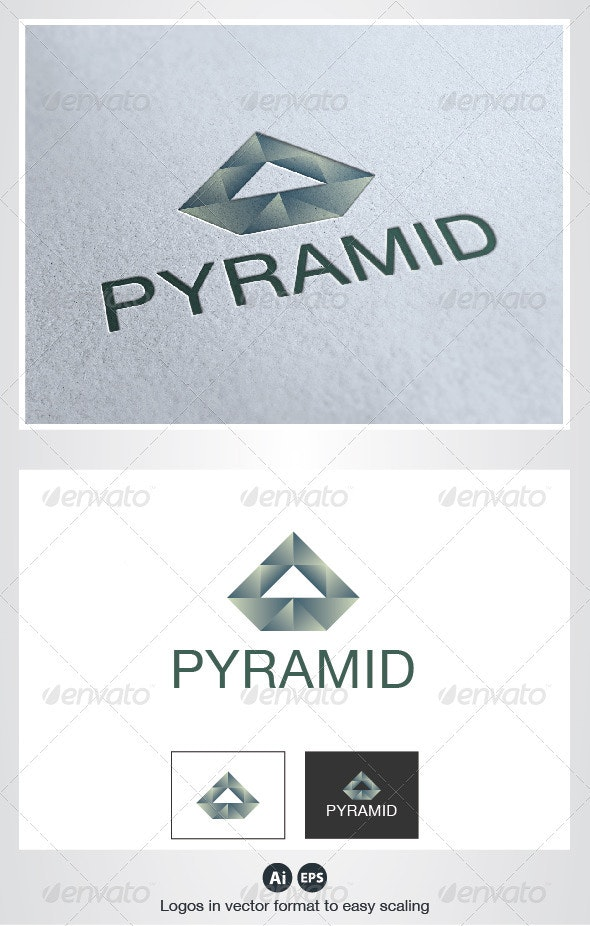 Pyramid Logo - Abstract Logo Templates