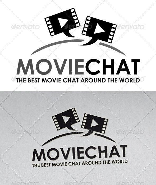Movie Chat Logo - Symbols Logo Templates