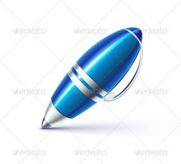 Ballpoint pen - Objects Vectors