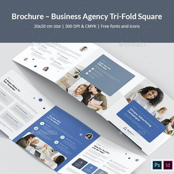 Brochure – Business Agency Tri-Fold Square