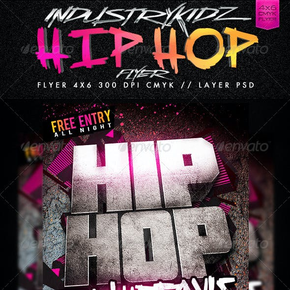Hip Hop Saturdays Flyer