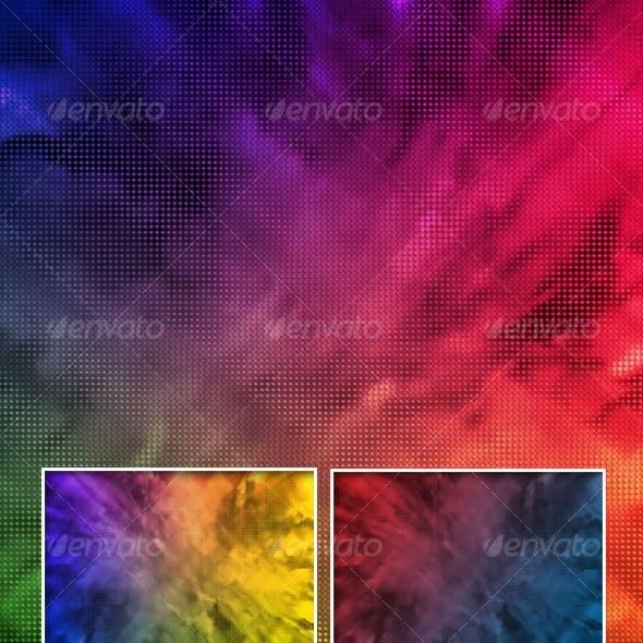 Dotted Fractal Background