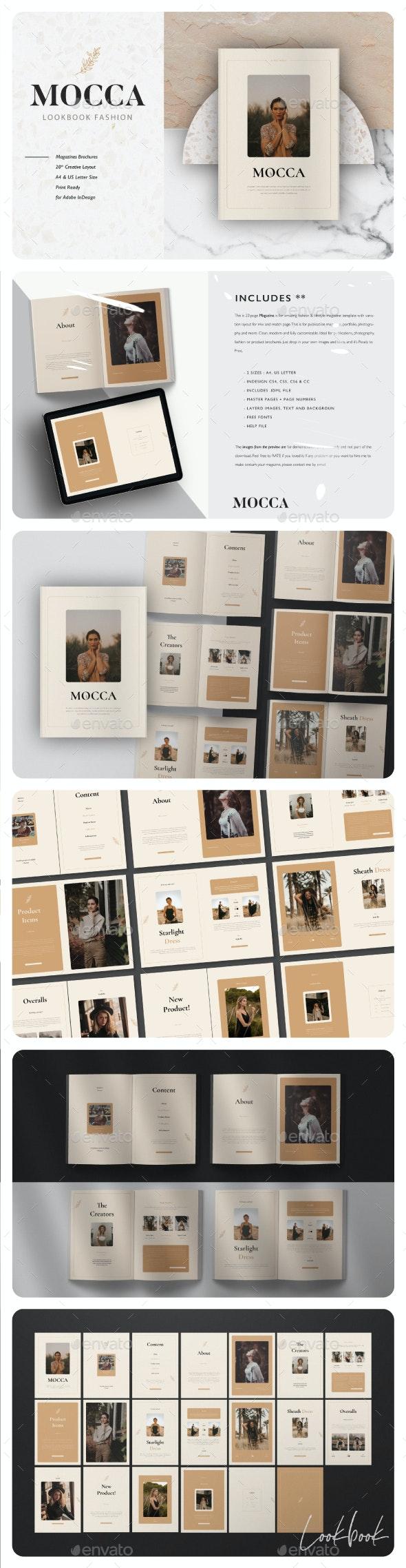 Mocca Lookbook Fashion - Magazines Print Templates