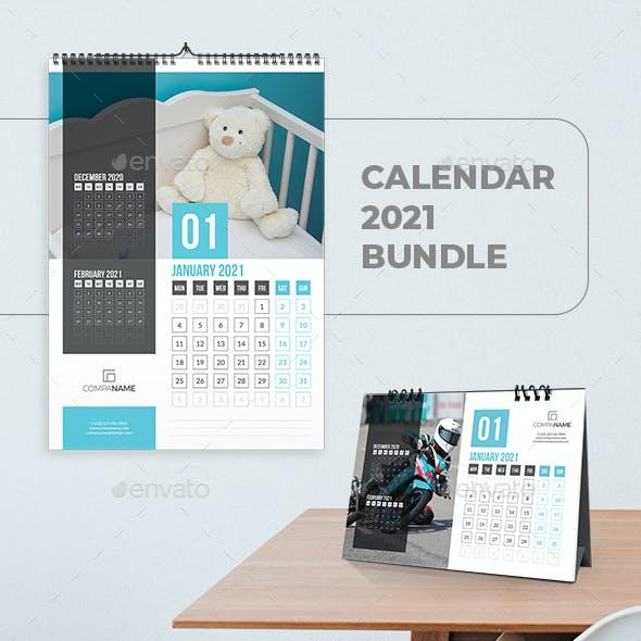 Calendar 2021 Bundle V05