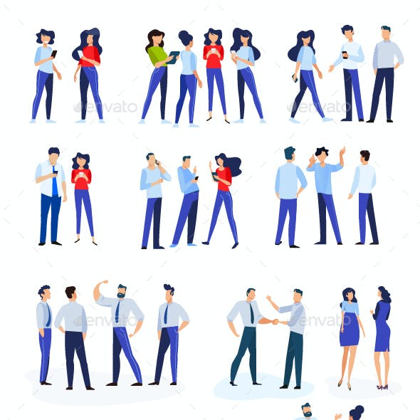 People Concept Illustrations