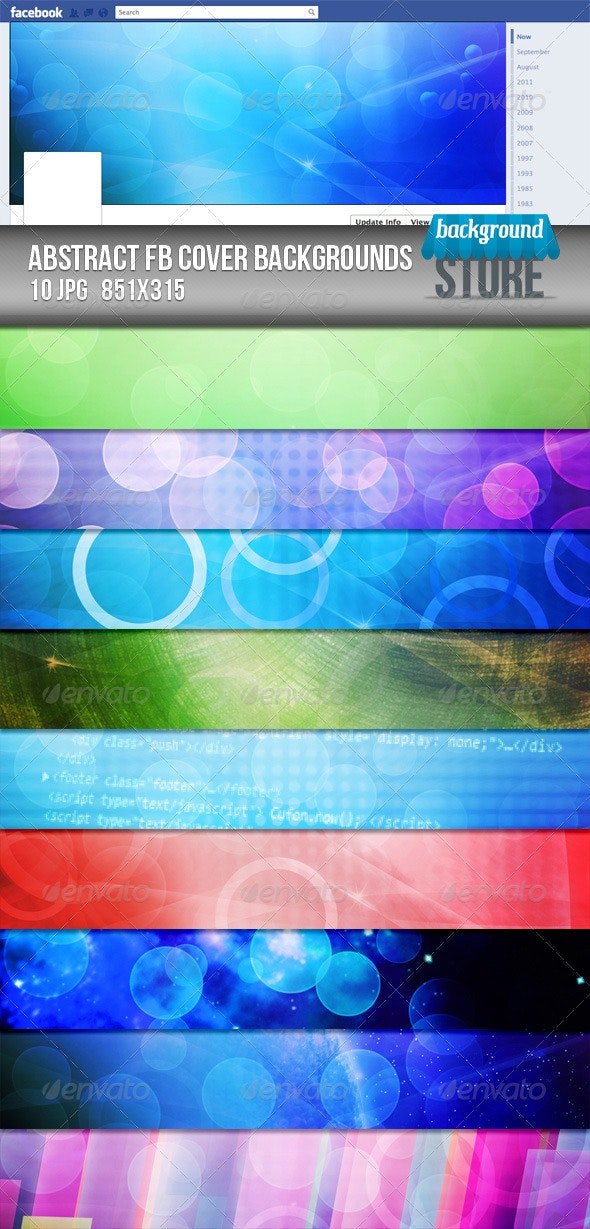 Abstract Facebook Timeline Cover Backgrounds - Facebook Timeline Covers Social Media