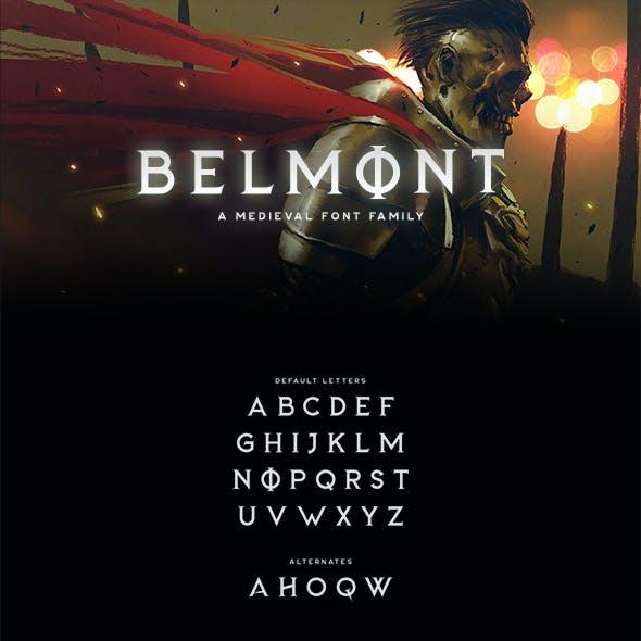Belmont Typeface