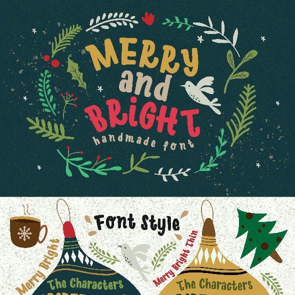 Merry Bright Typeface