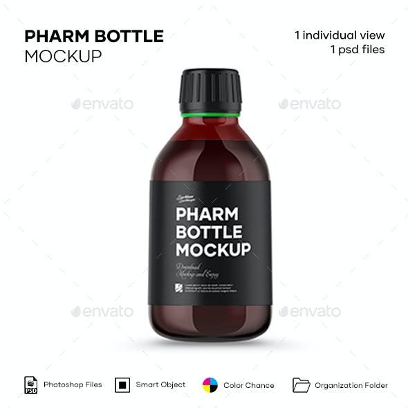 Pharm Bottle Mockup