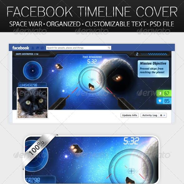 Space War - Facebook Timeline Cover