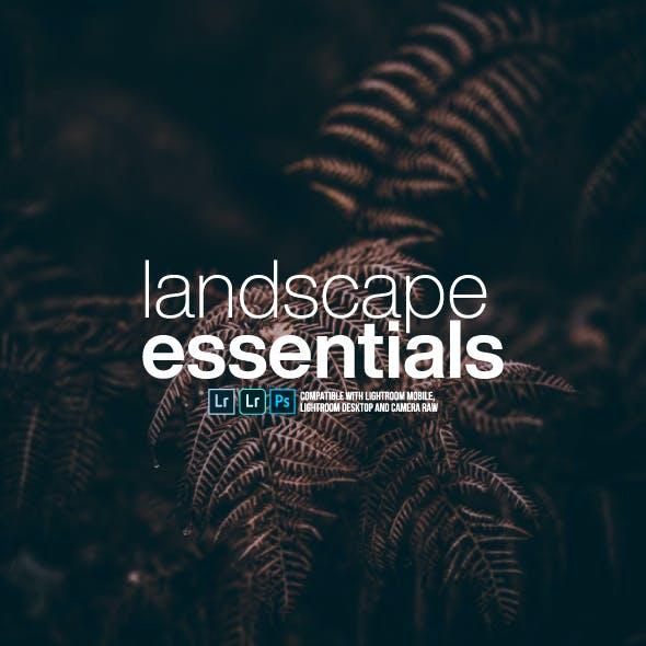 Landscape Essentials Pack Lightroom Presets for Mobile and Desktop