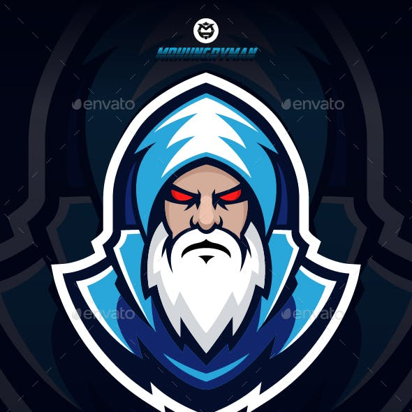 Wizard Logo Template
