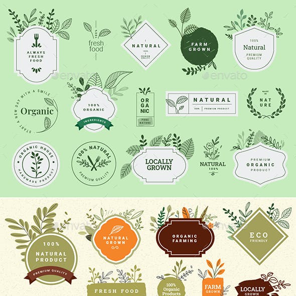 Organic and Natural Products Signs