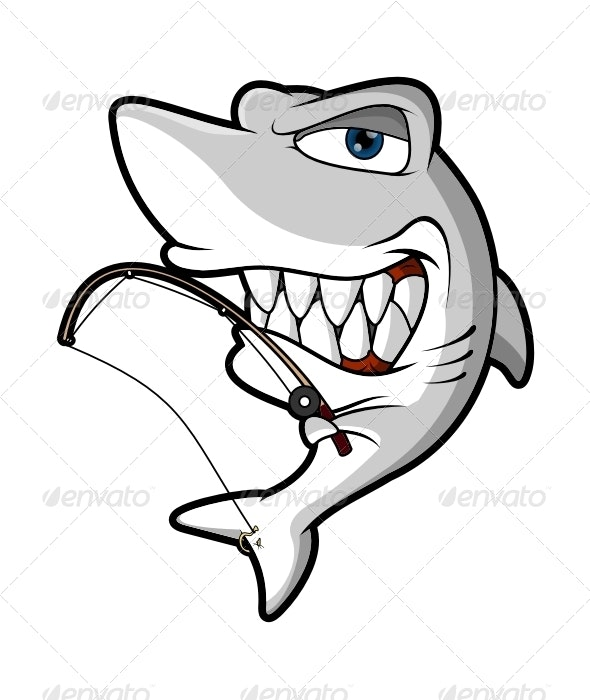 character shark vector - Animals Characters
