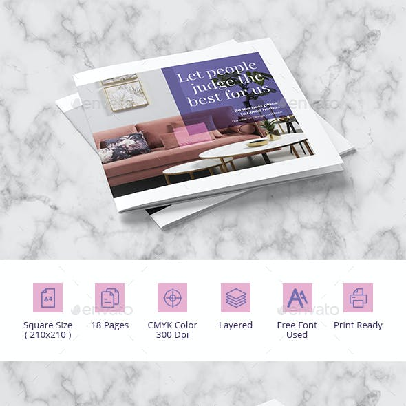 Indesign Catalogue Brochure