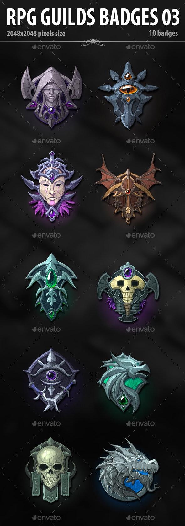 RPG Guilds Badges 03