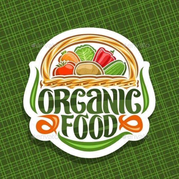 Vector Logo for Organic Food