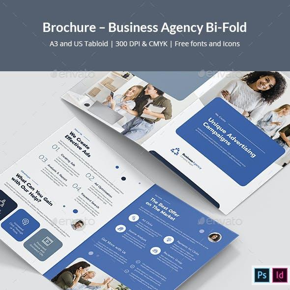 Brochure – Business Agency Bi-Fold