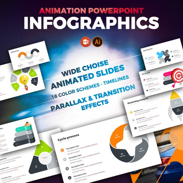 Clean Animated Infographics