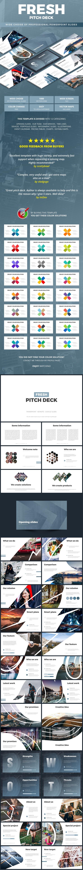 Pitch Deck Fresh - Pitch Deck PowerPoint Templates